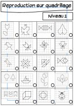 3 pages of  GEOBOARD designs