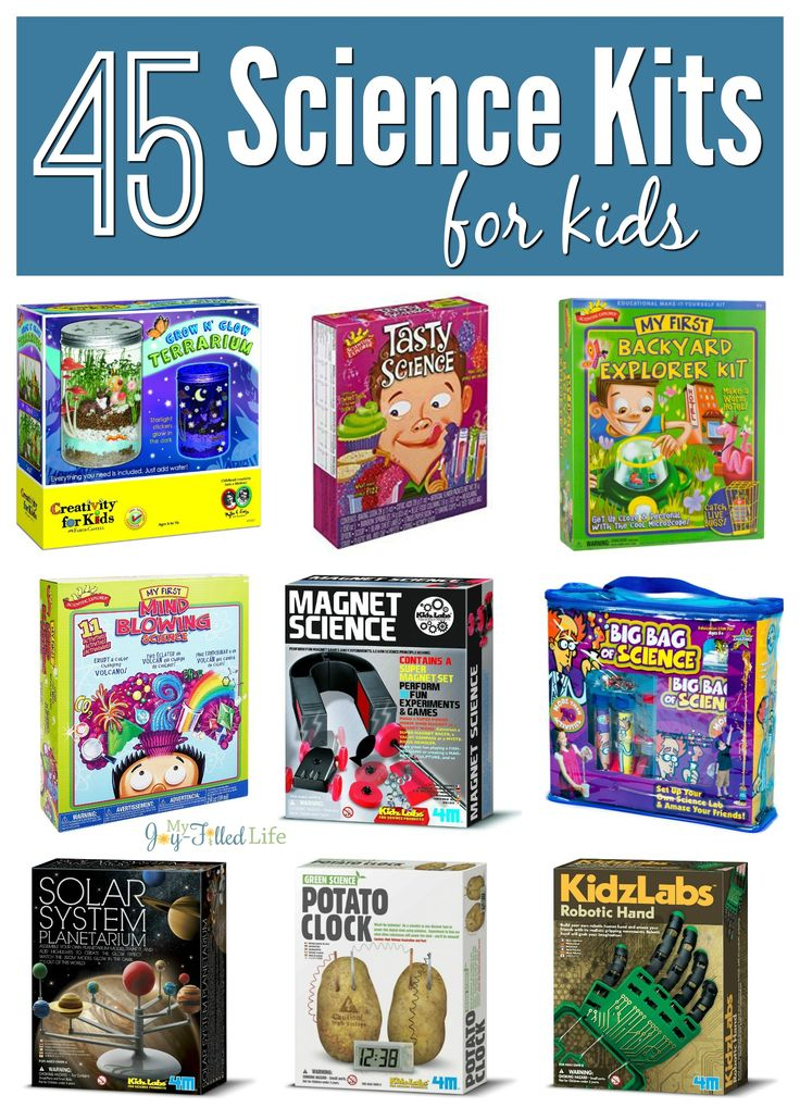 45 Science Kits for Kids