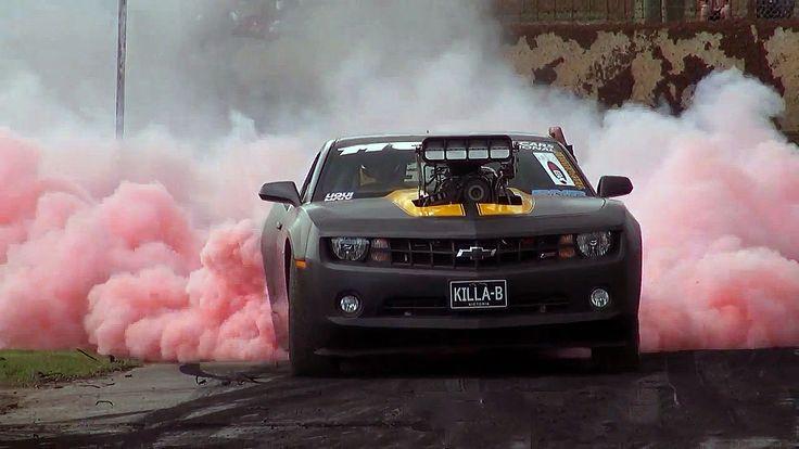 2010 Camaro KILLA-B Wins Ultimate Burnout Challenge