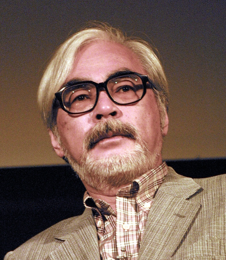 Hayao Miyazaki, born January 5, 1941, is a Japanese manga artist and prominent film director and animator of many popular anime feature films.  Feature Films: My Neighbor Totoro (1988), Spirited Away (2001), etc