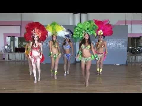 Samba Dancing Performance. Routine by Fabiola Gomes and Stephanie Swain to a classic Brazilian batucada.