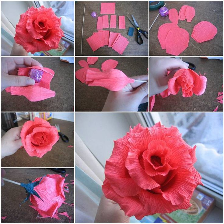 Crafts with Crepe Paper