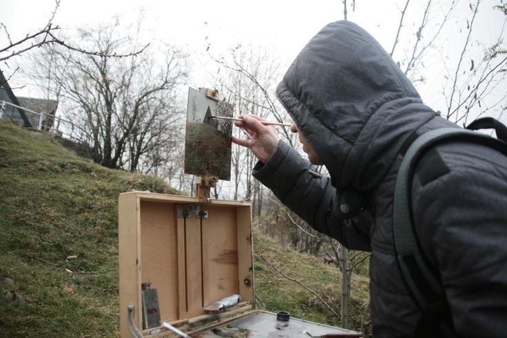 Painting in Romania