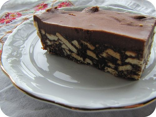 Chocolate Fudge Slice