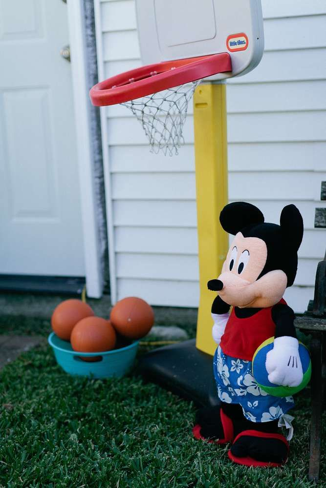 Aidan's Mickey Mouse Clubhouse First Birthday  | CatchMyParty.com