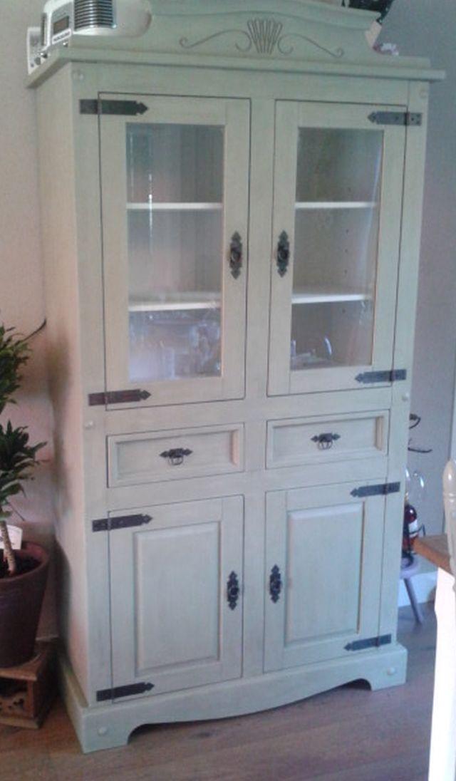 25 beste idee n over renoveren van meubels op pinterest opgeknapte meubels afgewerkt - Grijze verf leisteen ...
