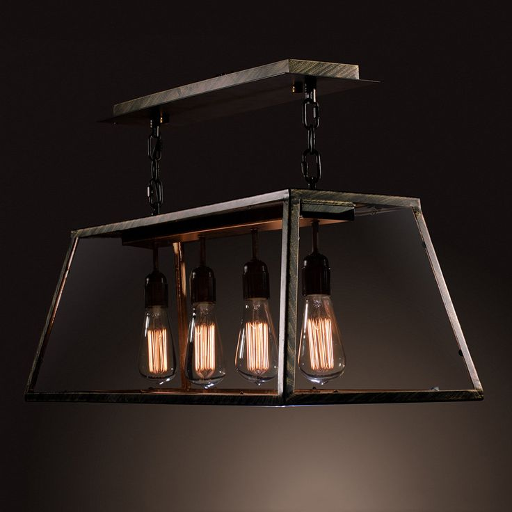 The Warehouse Of Tiffany S Island Edison Lamp Is A Fusion Of Contemporary And Modern Design