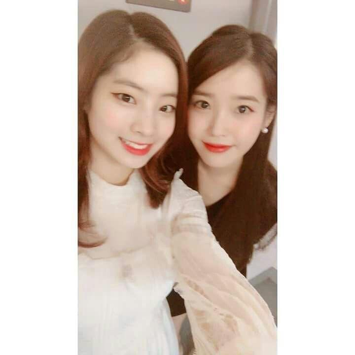 Dahyun&IU 171225 SBS Gayo Daejeon @twicetagram
