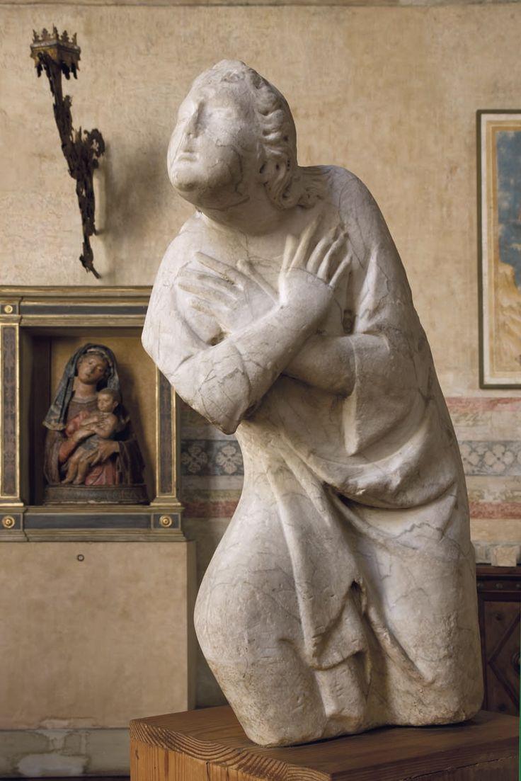 Cenacolo di Santo Spirito - Fondazione Salvatore Romano - Firenze - Tino di Camaino -Angelo adorante - inizio del terzo decennio del XIV sec.