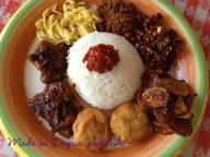 Nasi Langgi (Indonesian food)