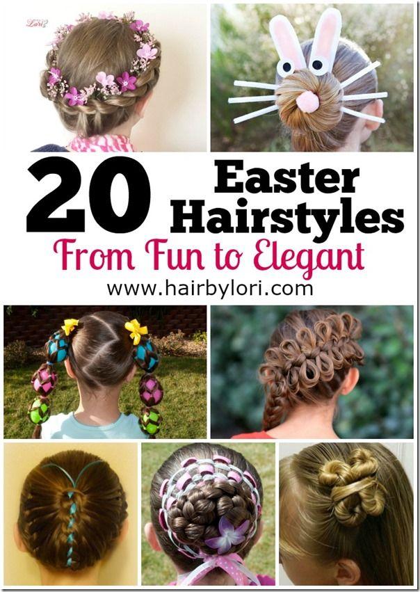 easter hairstyles - fun