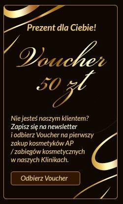 Zapisz się do newslettera Anna Pikura a otrzymasz voucher o kwocie 50 zł na pierwszy zakup bikosmetyków lub zabiegów kosmetycznych w naszych Klinikach. http://sklep.annapikura.com/newsletters.php