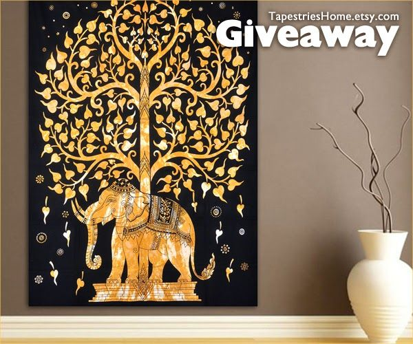 Home Decor #Giveaway! Enter to #win single bedspread of choice from Tapestries Home by 11:59pm EST on May 20, 2015.