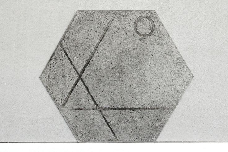 Panel ścienny tynkowany Paneletto - Hexa Sign 01