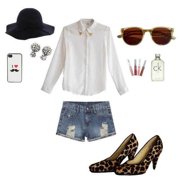 Outfit Summer Street heelsup, animalprint, moustache, bigote, sombrero en Colombia