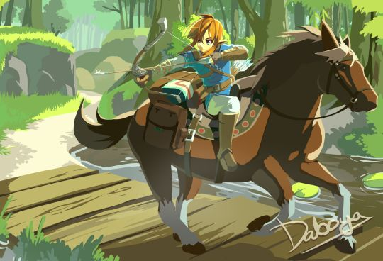 The Legend of Zelda Wii U Created by Daboya
