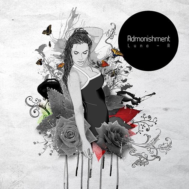"Single artwork for Luna-R's ""Admonishment"" You can listen to the song here: http://soundcloud.com/luna-r"