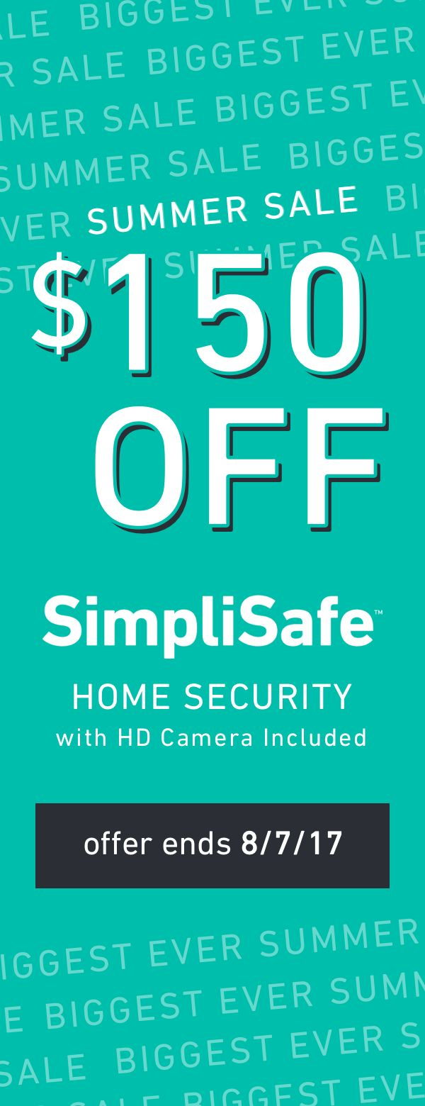 24/7 protection. No long-term contracts. Now $150 off.