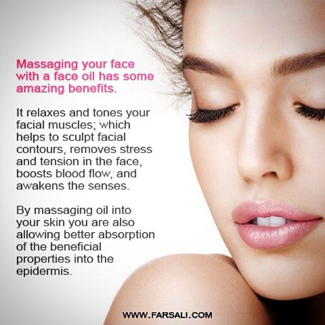 Did you know that a face oil massage has some great benefits?  ➡️ Use promo code MALLORY for a special discount at farsali.com