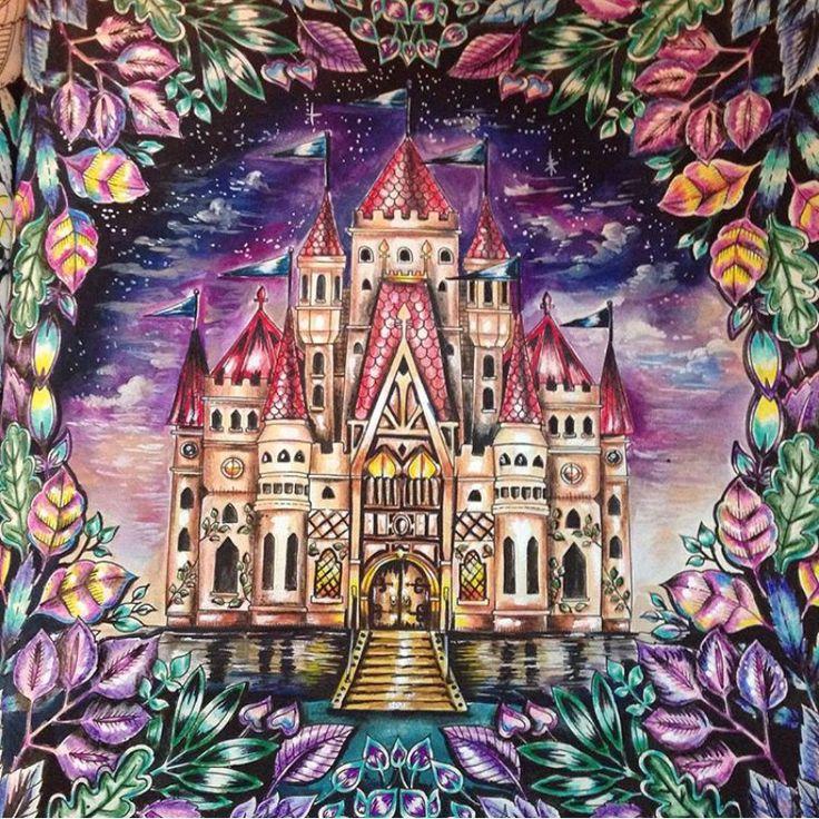 Castle Enchanted Forest By Eli Federzoni