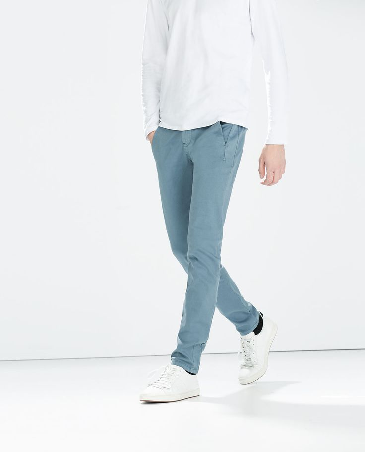 BASIC CHINOS from Zara £29.99