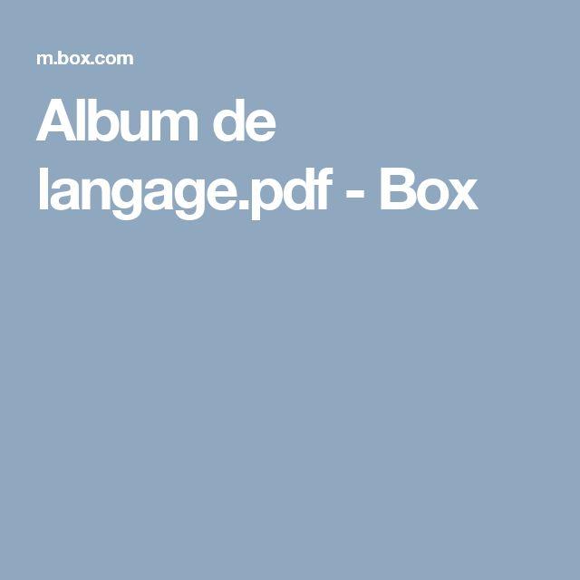 Album de langage.pdf - Box