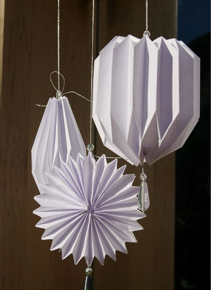 origami christmas decoration by WHITE CLOUD DESIGN / on Fler