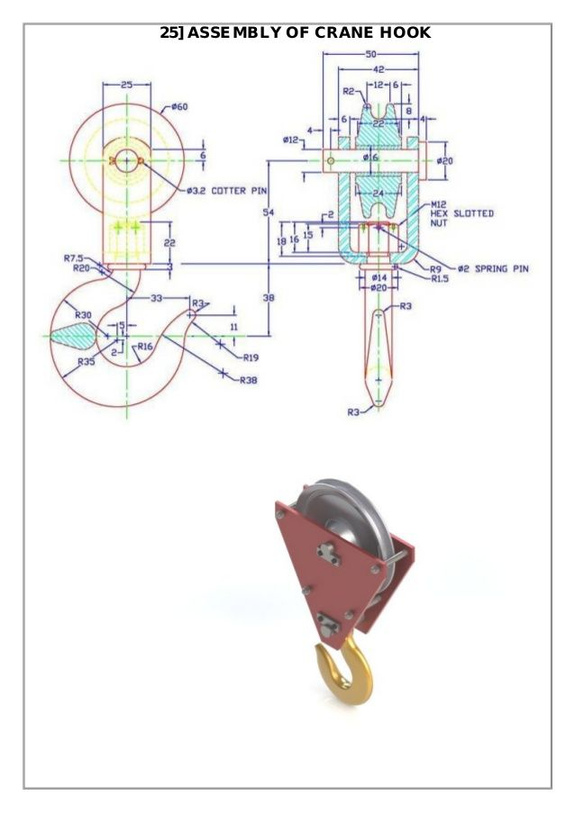 Assembly And Details Machine Drawing Pdf Mechanical Design Interesting Drawings Solid Works