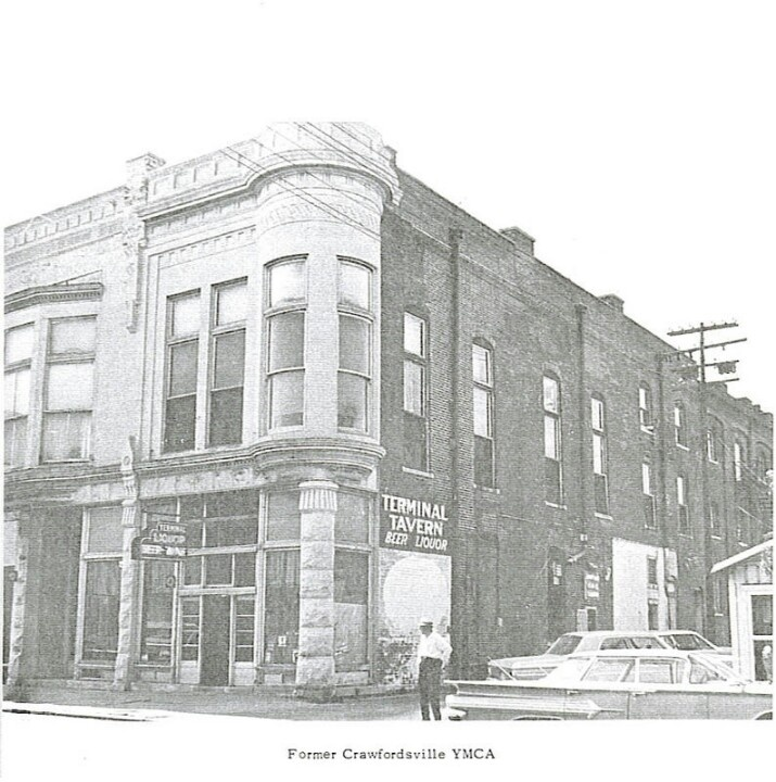 Old YMCA In The Early 50's Crawfordsville