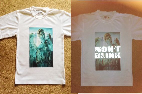 papa dr who Shirt - dont blink!