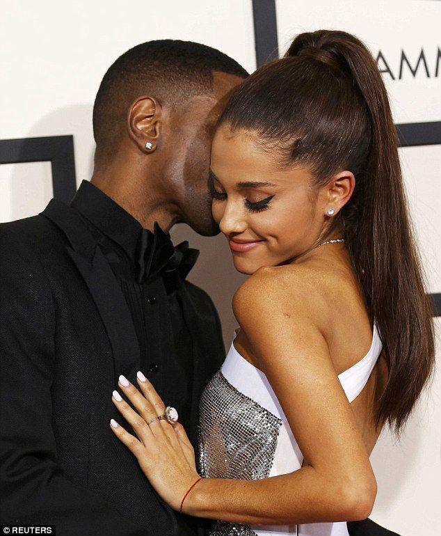 Big Sean Ariana Grande 2015 grammys