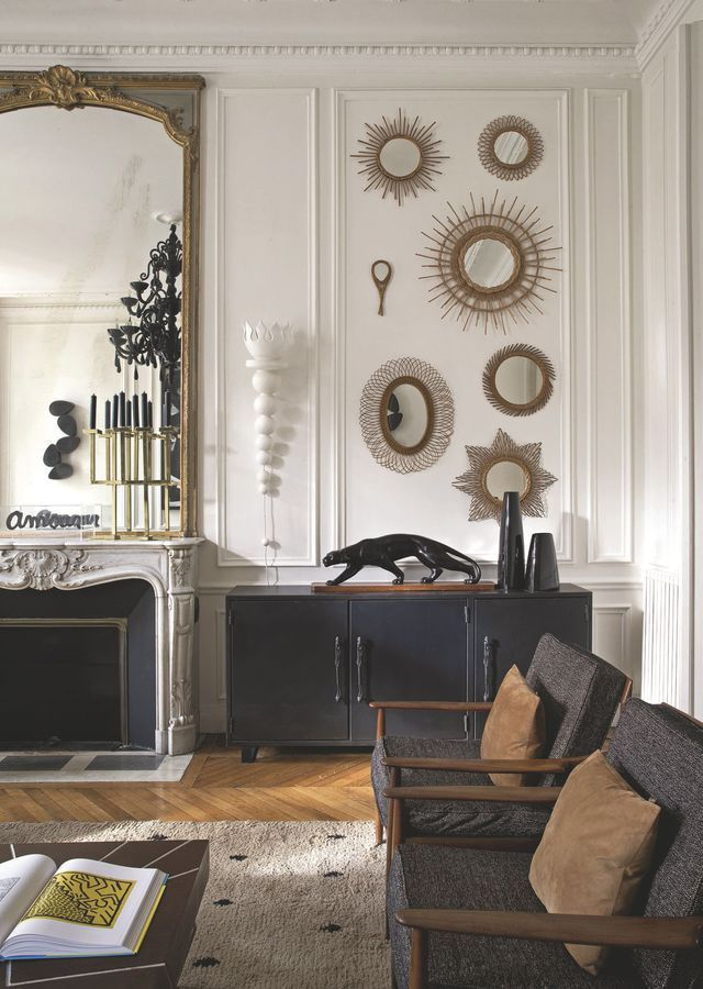 les 28 meilleures images du tableau d co haussmannien. Black Bedroom Furniture Sets. Home Design Ideas