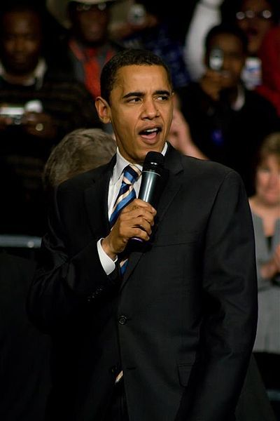 Barack Obama Campaigns In Vegas While Storm Victims Defecate In The Hallways And Rummage Through Garbage Dumpsters For Food