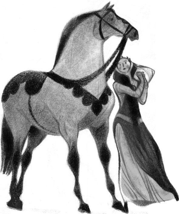 Wonderful French illustrator, Annette Marnat