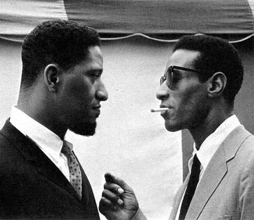 Sonny Rollins and Max Roach way too much cool for one picture.