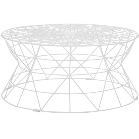 Freedom Furniture -  Lovett Coffee Table in White  $299