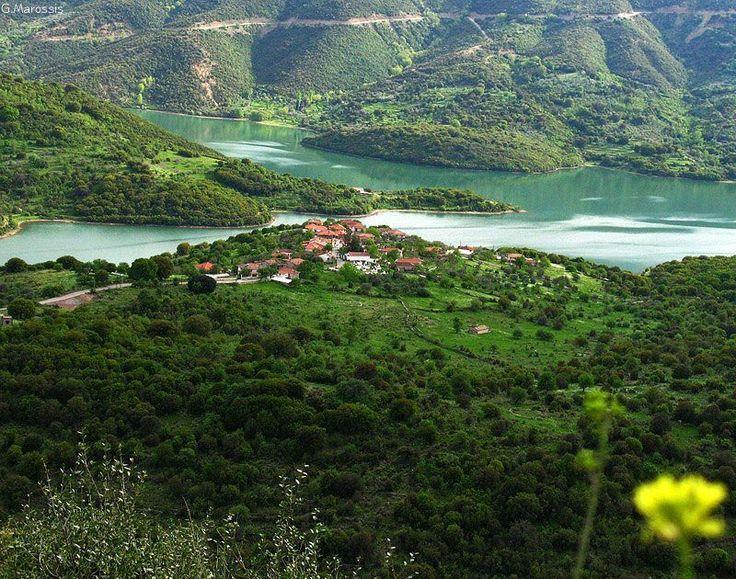 Mouria village near Ladonas lake