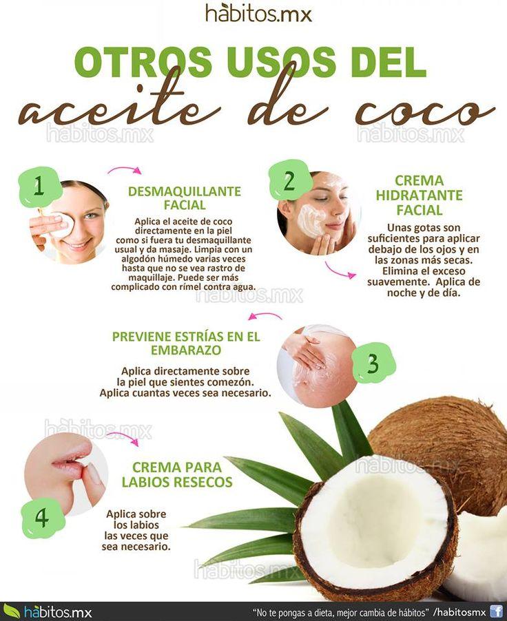 Hábitos Health Coaching | Usos del ACEITE DE COCO