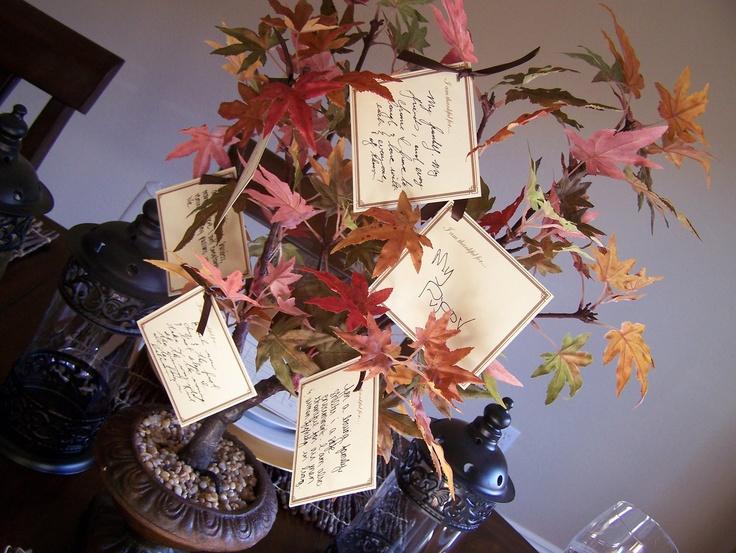 21 Best Thanksgiving Tree Ideas Images On Pinterest