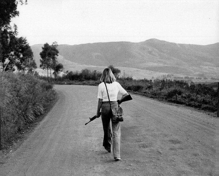 Rhodesian Bush War. This photo illustrates how dangerous it was at that time.