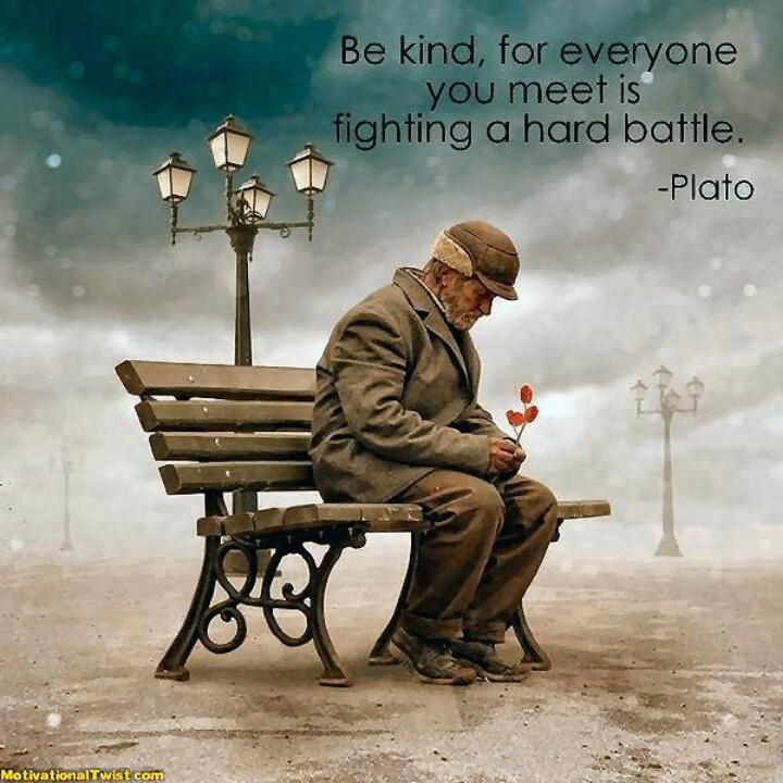 Man Alone Sad Quotes: Old Man Sitting Alone