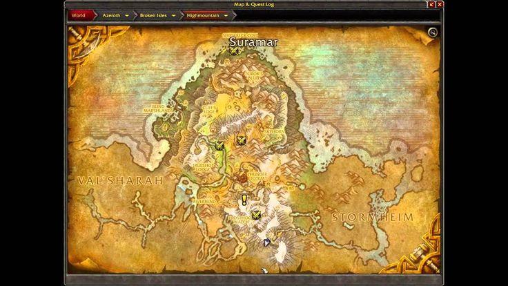cool WoW Legion ALPHA Blacksmith Firmament Stone   World of Warcraft  Legion
