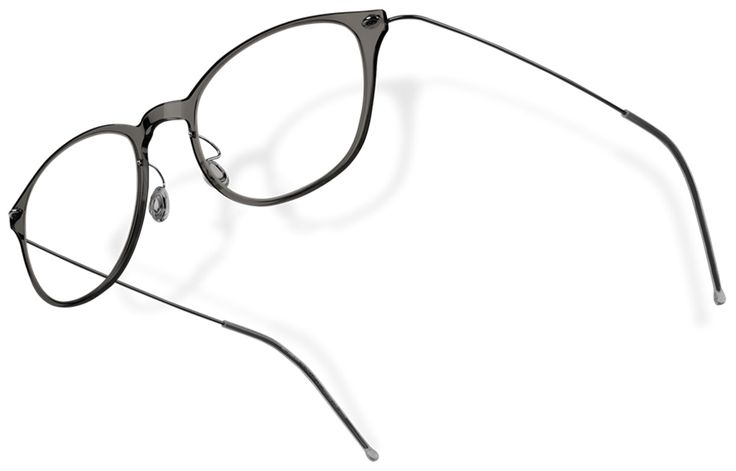 Lindberg Now 6517 in dark transparent black, my new glasses.