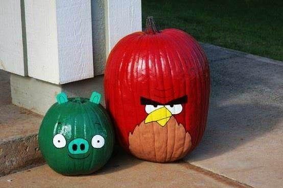 Halloween Angry Birds Pumpkins Pictures