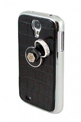 #Samsung #Galaxy #s4 #Carcasa #Negra #Grabado #Cocodrilo #Finger360 #Anticaídas
