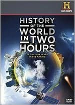 History of the World in Two Hours - by the  History channel - Blueray DVD