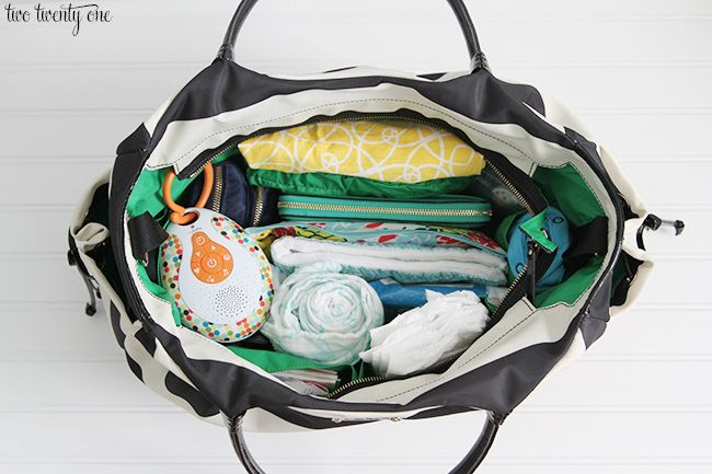 Today I thought I'd share how I organize my diaper bag. Do you remember what diaper bags used to look like? I'm talking circa 1980-90. The ones I remember were always so bulky and pastel in color. They weren't very attractive and screamed THIS IS A DIAPER BAG! Thank goodness diaper bags have become more fashionable.