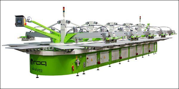KPR Mills installed 5 oval screen printing machines.