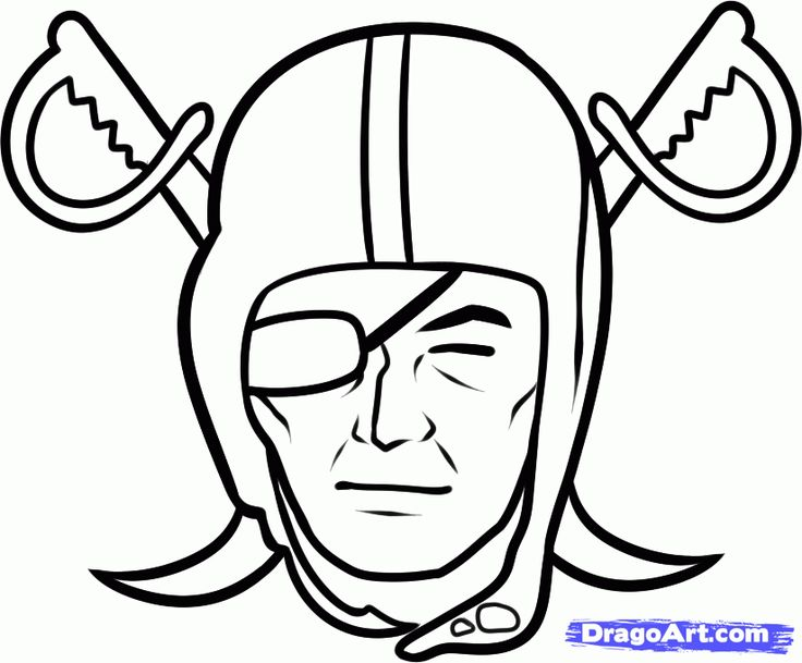 raiders coloring pages - raiders football coloring pages how to draw the raiders