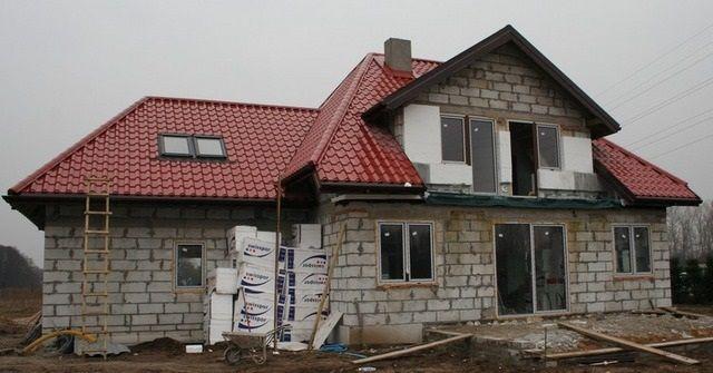 Stan surowy zamknięty #dom #projekt #budowa